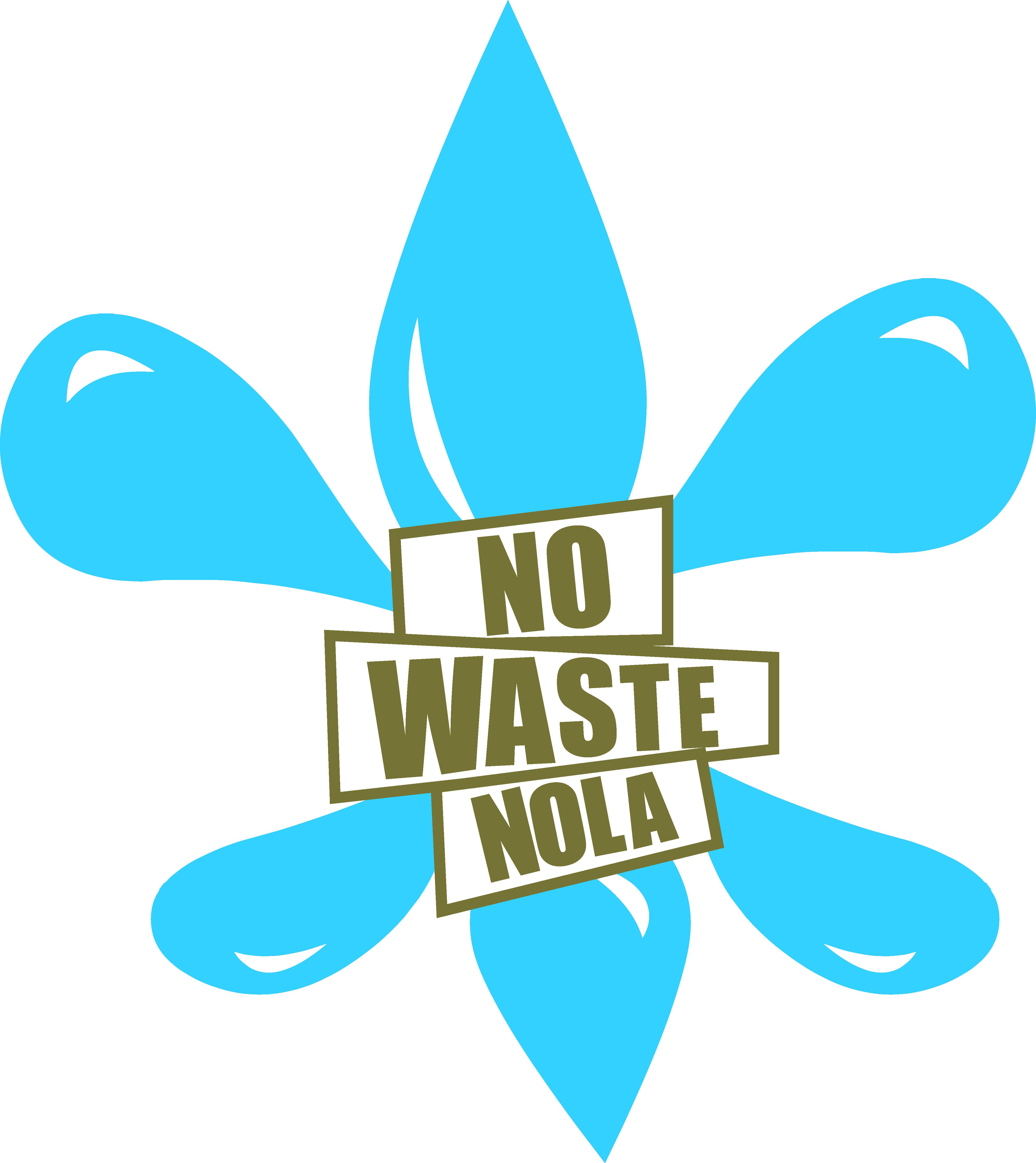 No Waste NOLA logo