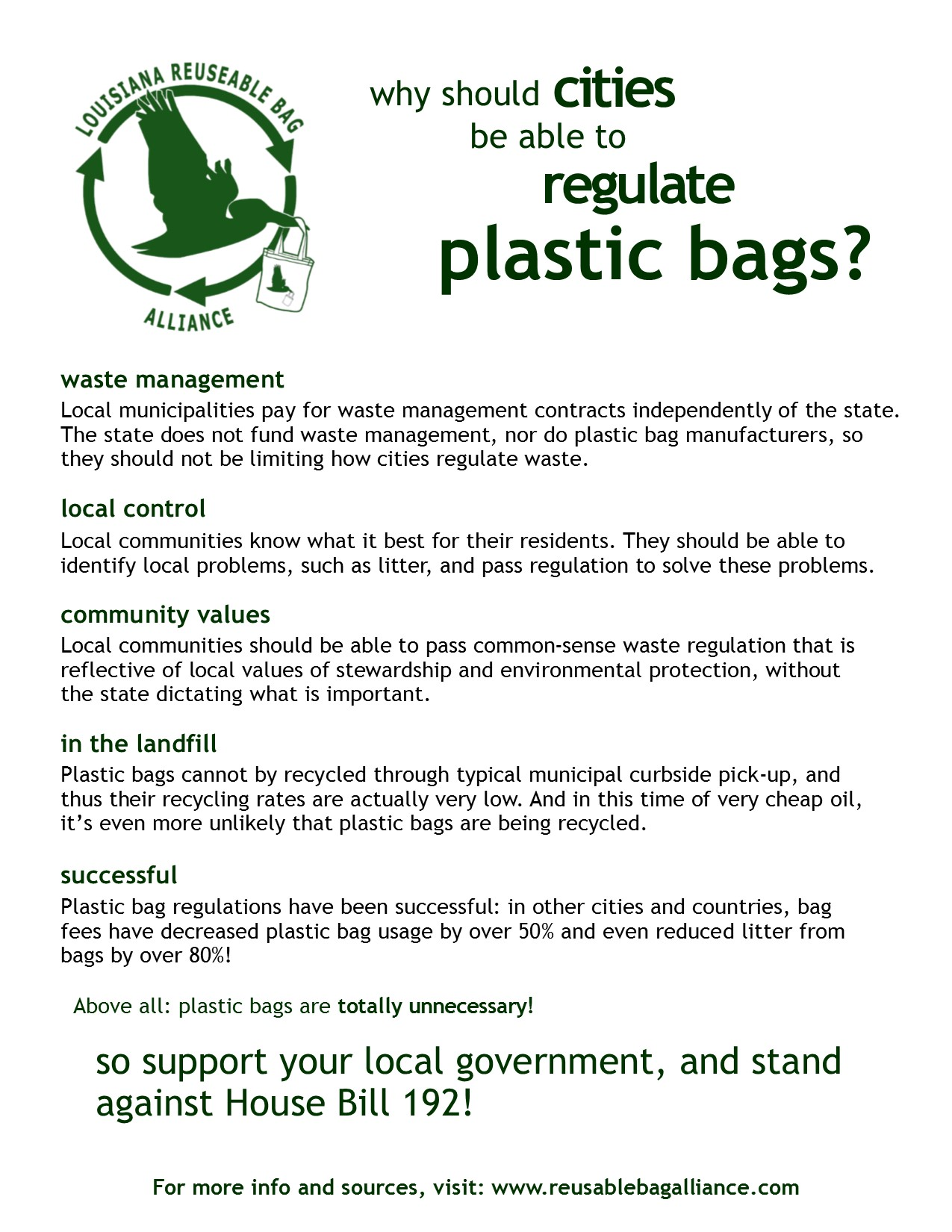 LARBA_one pager on plastic bag regulation